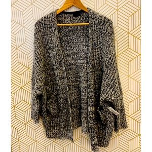 Topshop long line Cardigan with Pouch Pockets